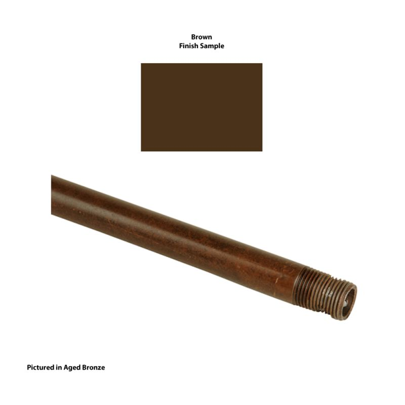 "Craftmade DR12 12"" Downrod Brown Accessory Downrods Sale $7.25 ITEM: bci717621 ID#:DR12BR UPC: 647881026592 :"