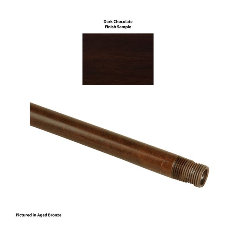 "Craftmade DR24 24"" Craftmade Fans Downrod Dark Chocolate Parts Sale $14.50 ITEM: bci717707 ID#:DR24DC UPC: 647881080655 :"
