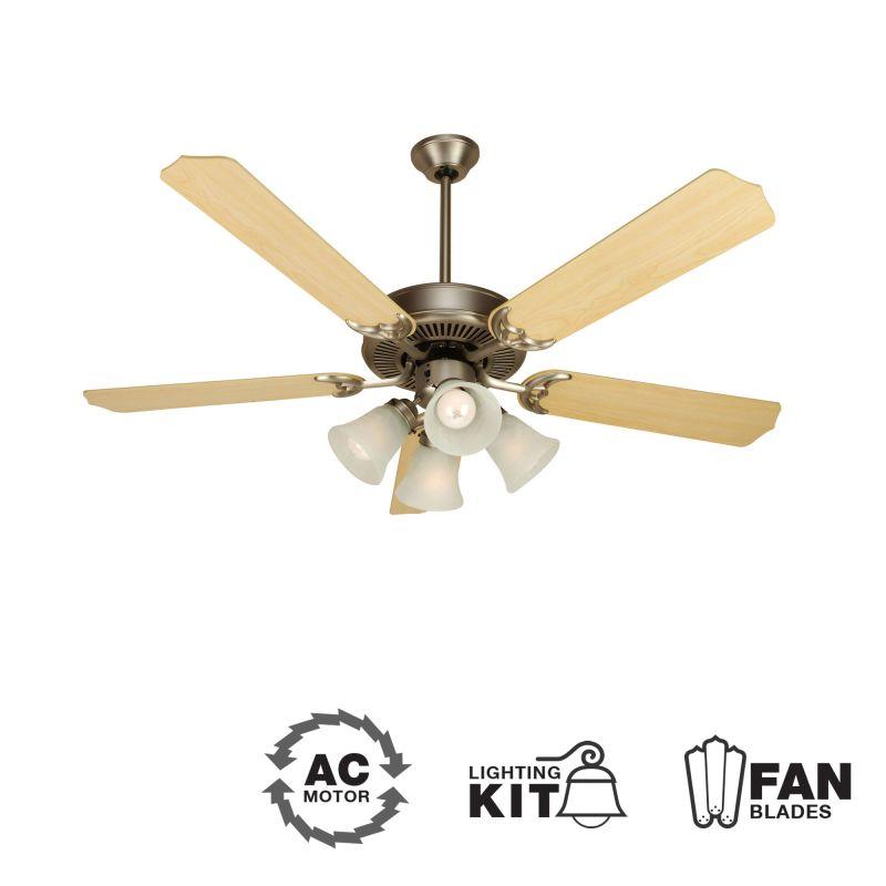 "Craftmade K10631 CD Unipack 203 52"" 5 Blade Indoor Ceiling Fan -"