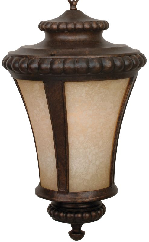 Craftmade Z1221 Prescott 1 Light Lantern Outdoor Pendant - 12 Inches