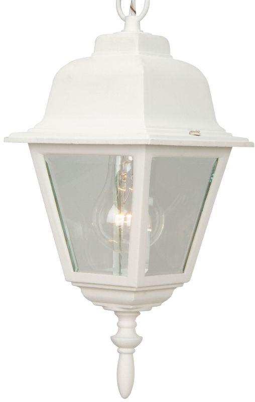 Craftmade Z171 Straight Glass 1 Light Lantern Outdoor Pendant - 6