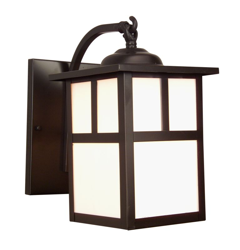 Craftmade Z1844 Mission 1 Light Outdoor Wall Sconce - 6 Inches Wide Sale $99.00 ITEM: bci1024032 ID#:Z1844-7 UPC: 647881016111 :