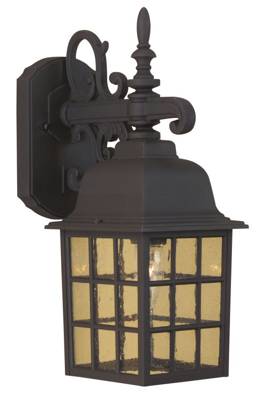Craftmade Z270 Grid Cage 1 Light Outdoor Wall Sconce - 6 Inches Wide