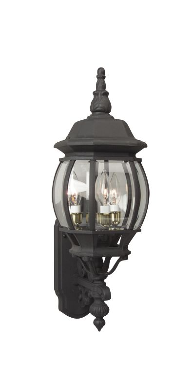 Craftmade Z330 French Style 3 Light Outdoor Wall Sconce - 8 Inches