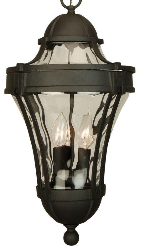 Craftmade Z4221 Parish 3 Light Lantern Outdoor Pendant - 11 Inches