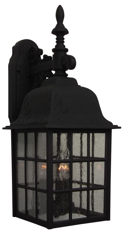 Craftmade Z570 Grid Cage 3 Light Outdoor Wall Sconce - 8.5 Inches Wide