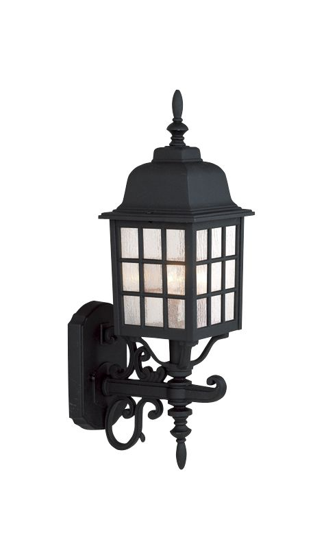 Craftmade Z574 Grid Cage 3 Light Outdoor Wall Sconce - 8.5 Inches Wide