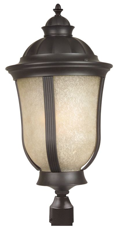 Craftmade Z6115-NRG Frances II 1 Light Energy Star Post Light Oiled