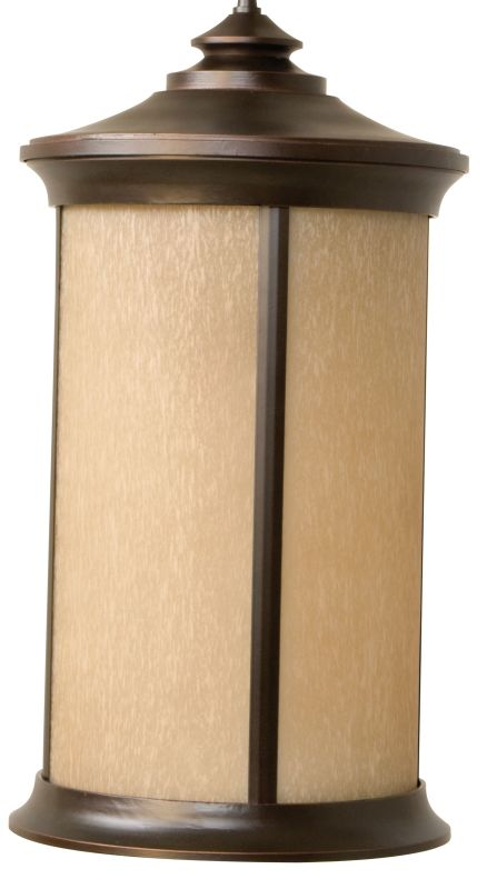 Craftmade Z6521-88 Arden 1 Light Cylinder Outdoor Pendant - 12 Inches