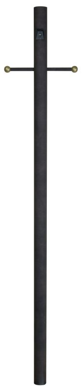 Craftmade Z8792 Direct Burial Post Rust Outdoor Lighting Posts
