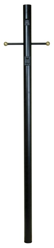 Craftmade Z8794 Direct Burial Post with Photocell and Convenience