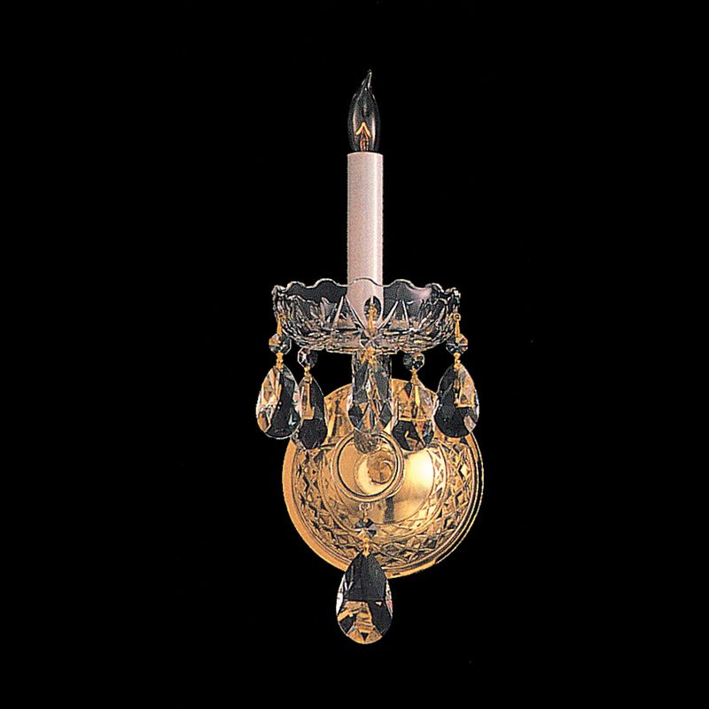 Crystorama Lighting Group 1101-CL Traditional Crystal 1 Light