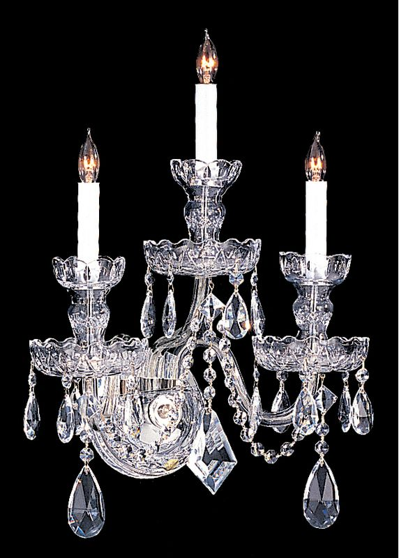 Crystorama Lighting Group 1143-CL Traditional Crystal 3 Light Sale $798.00 ITEM: bci1673961 ID#:1143-CH-CL-S UPC: 633779004049 :