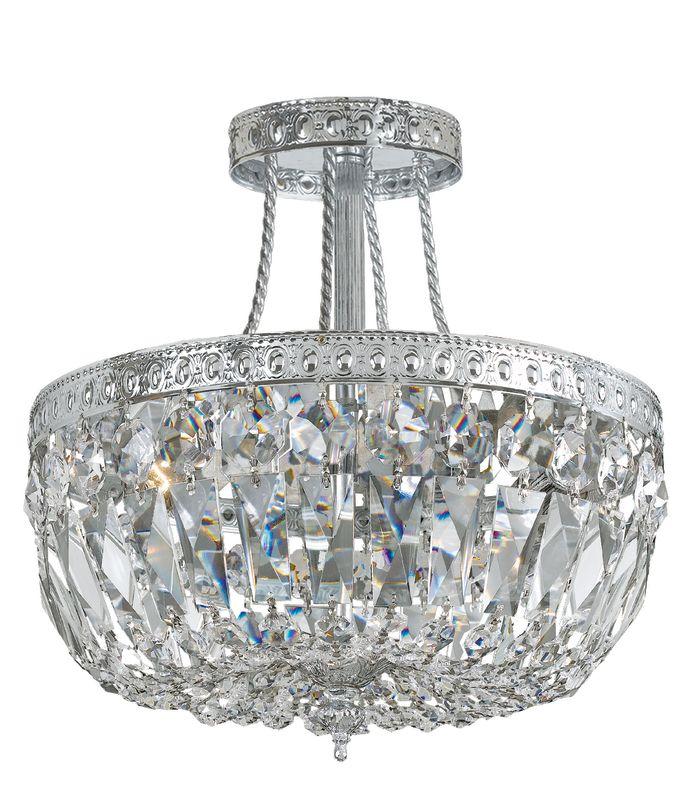 Crystorama Lighting Group 119-12 3 Light Clear Swarovski Strass Semi Sale $750.00 ITEM: bci1673803 ID#:119-12-CH-CL-S UPC: 633779000867 :