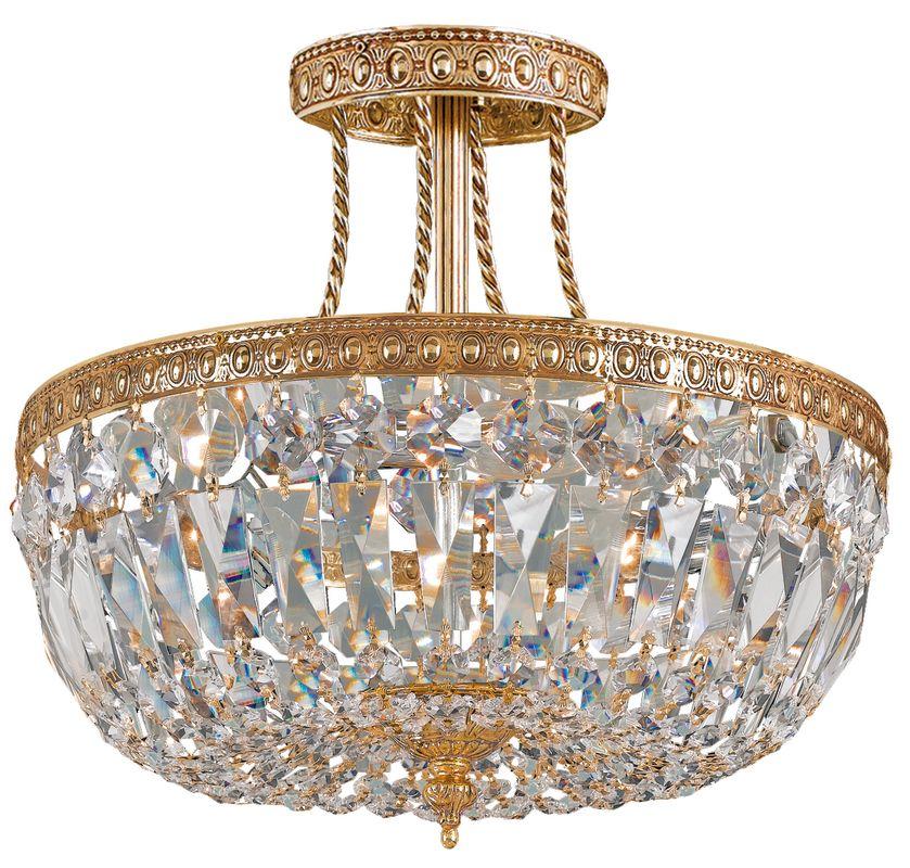Crystorama Lighting Group 119-12 3 Light Clear Swarovski Strass Semi Sale $398.00 ITEM: bci1330130 ID#:119-12-OB-CL-MWP UPC: 633779000829 :