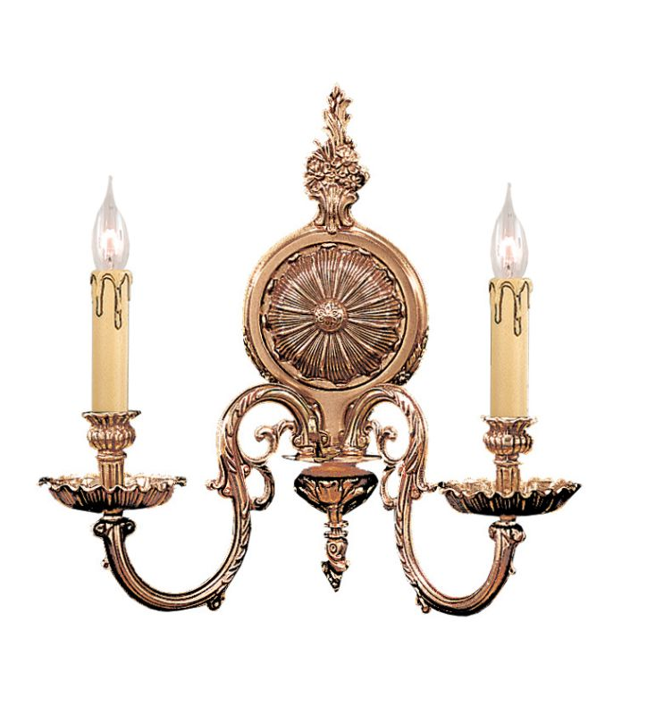 Crystorama Lighting Group 2602 Novella 2 Light Candle Style Double Sale $250.00 ITEM: bci621180 ID#:2602-OB UPC: 633779004766 :