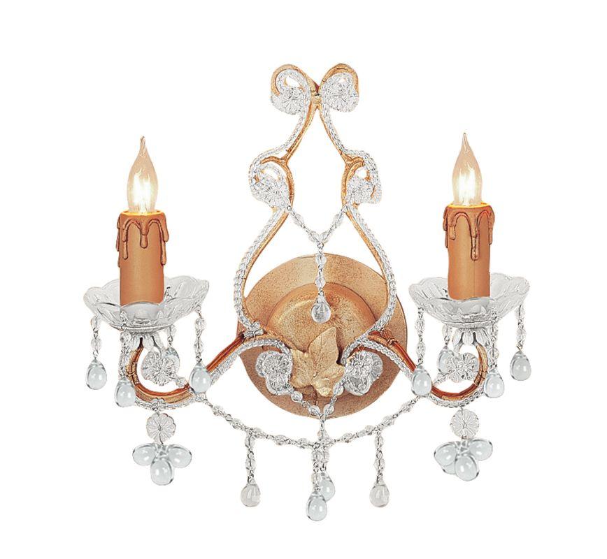 Crystorama Lighting Group 4522 Paris Flea Market 2 Light Candle Style Sale $126.10 ITEM: bci1673400 ID#:4522-CM-CLEAR UPC: 633779006616 :