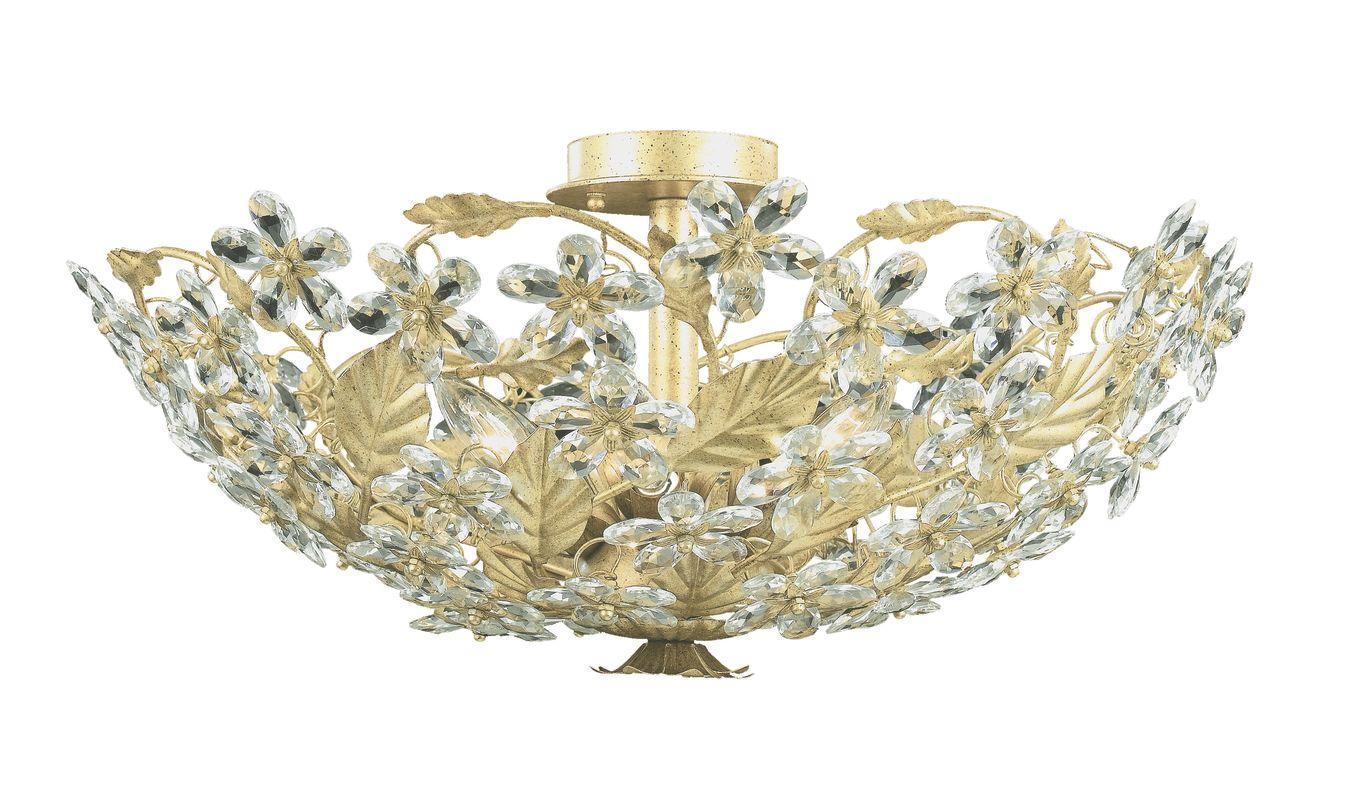 Crystorama Lighting Group 4724 Abbie 6 Light Flush Mount Ceiling Sale $598.00 ITEM: bci621563 ID#:4724-CM UPC: 633779006869 :