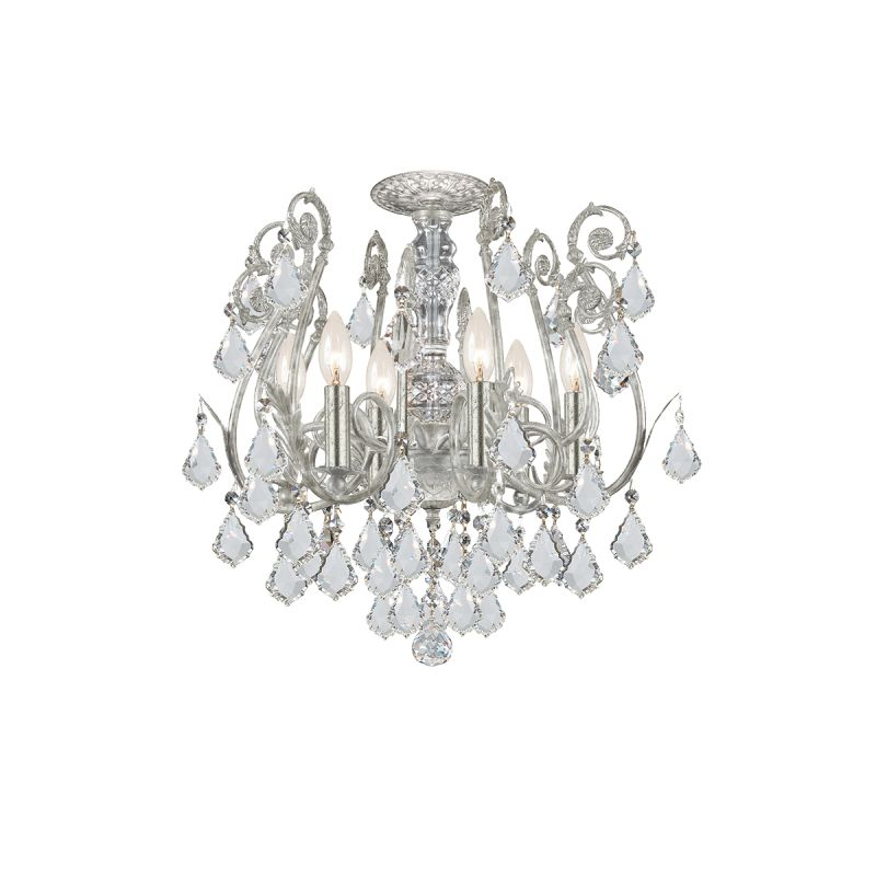 Crystorama Lighting Group 5115-CL Crystal Six Light Chandelier from Sale $598.00 ITEM: bci1673487 ID#:5115-OS-CL-MWP UPC: 633779008283 :