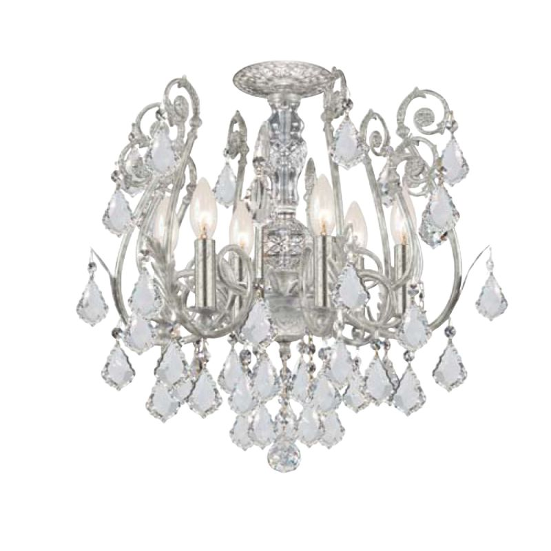 Crystorama Lighting Group 5115-CL Crystal Six Light Chandelier from Sale $998.00 ITEM: bci1673489 ID#:5115-OS-CL-SAQ UPC: 633779008306 :