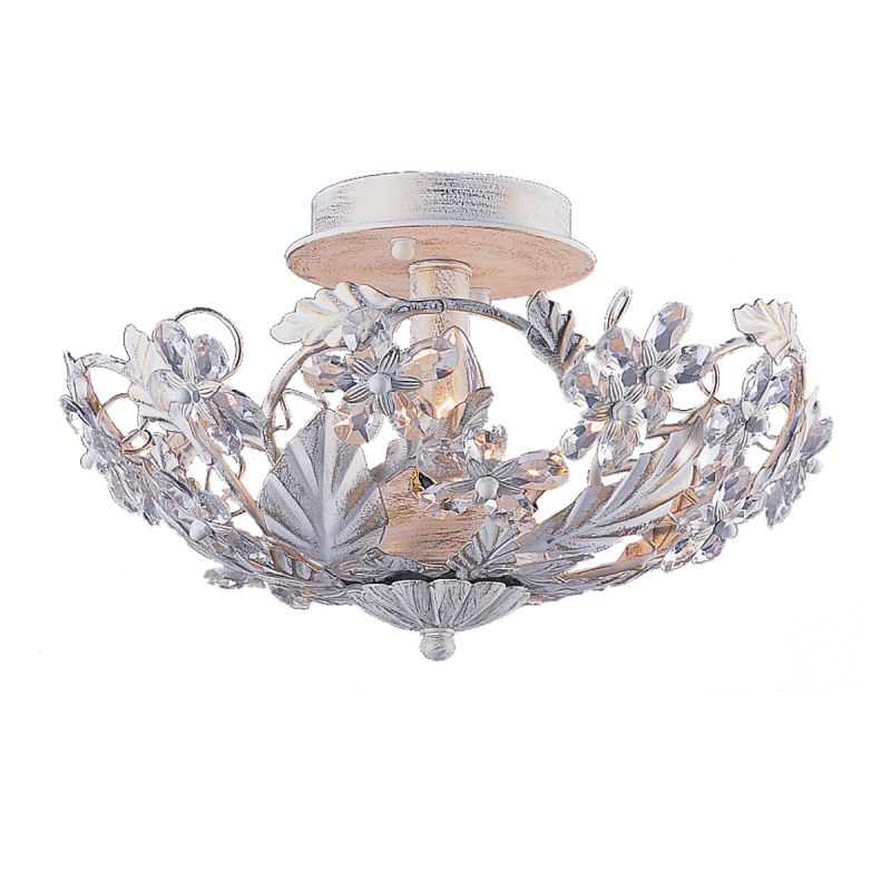 Crystorama Lighting Group 5305 Abbie 3 Light Crystal Semi-Flush Sale $250.00 ITEM: bci622032 ID#:5305-AW UPC: 633779010484 :