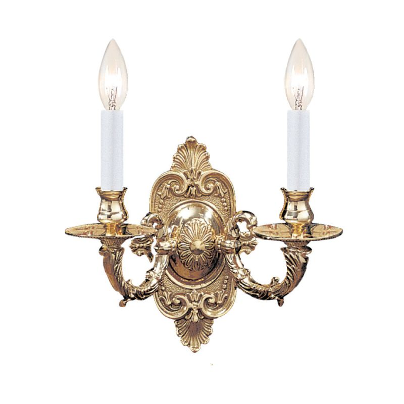 Crystorama Lighting Group 642 Arlington 2 Light Candle Style Double Sale $198.00 ITEM: bci622221 ID#:642-PB UPC: 633779001727 :