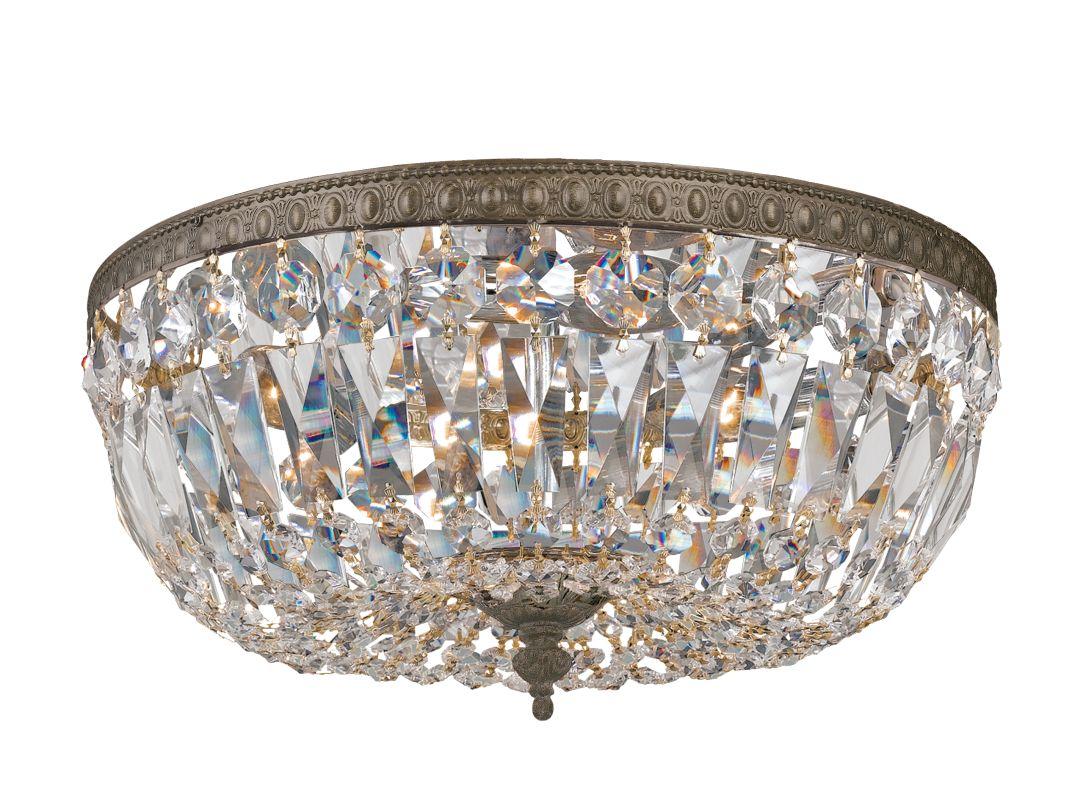 Crystorama Lighting Group 714-CL Three Light Clear Hand Cut Majestic Sale $518.00 ITEM: bci1673871 ID#:714-EB-CL-SAQ UPC: 633779002359 :