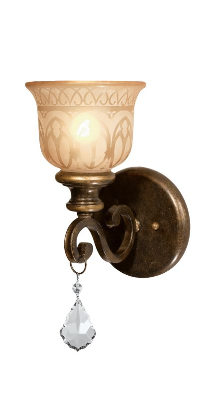Crystorama Lighting Group 7501 Norwalk 1 Light Crystal Wall Sconce Sale $100.10 ITEM: bci1673772 ID#:7501-BU-CL-S UPC: 633779013614 :