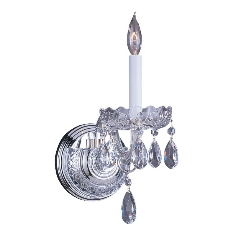 Crystorama Lighting Group 1031-CH-CL Traditional Crystal 1 Light