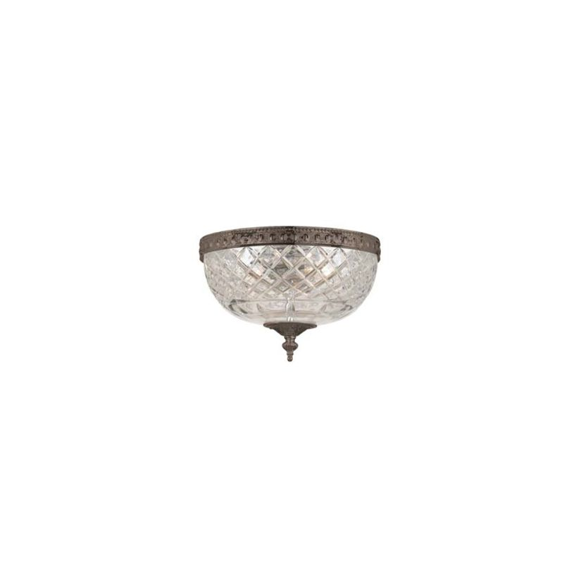 Crystorama Lighting Group 117-8 Richmond 2 Light Flushmount Ceiling