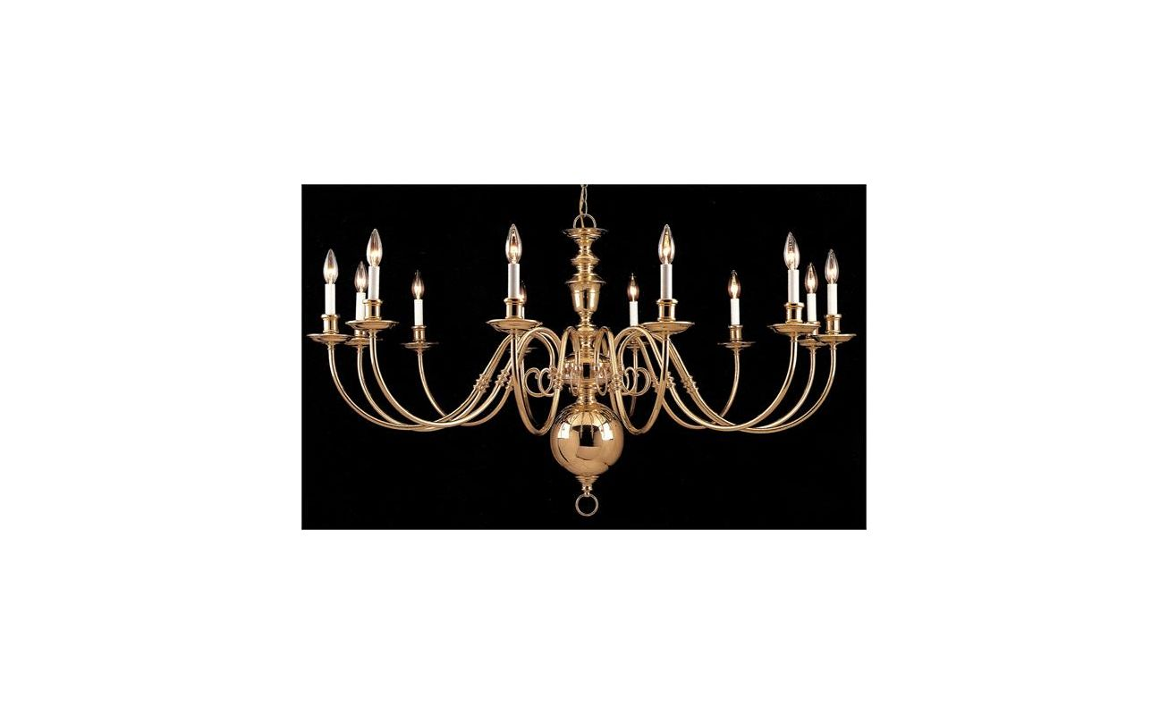 Crystorama Lighting Group 355-60-12 Essex House 48 Light Chandelier -