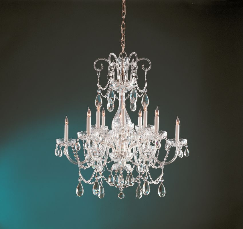 Crystorama Lighting Group 1035-CL-S Traditional Crystal 12 Light