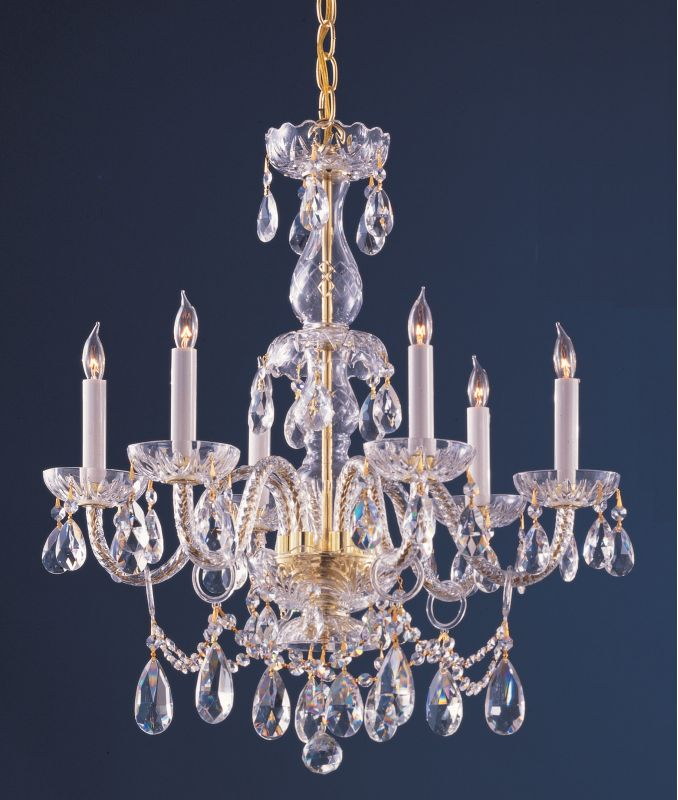 Crystorama Lighting Group 1126-CL-S Traditional Crystal 6 Light Sale $813.15 ITEM: bci2267123 ID#:1126-PB-CL-S UPC: 633779021589 :