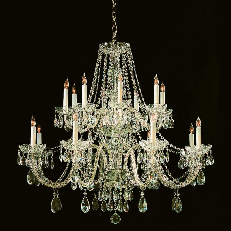 Crystorama Lighting Group 1139-CL-S Traditional Crystal 16 Light Clear Sale $4400.00 ITEM: bci2267128 ID#:1139-PB-CL-S UPC: 633779021701 :