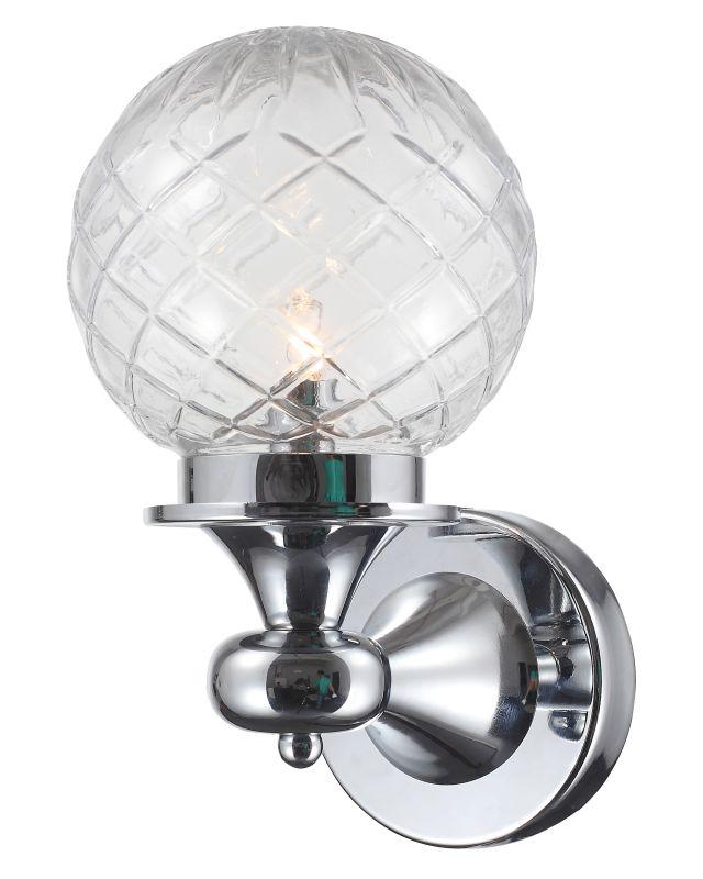 """Crystorama Lighting Group 201 Essex Single Light LED 6"""" Wide Bathroom"""