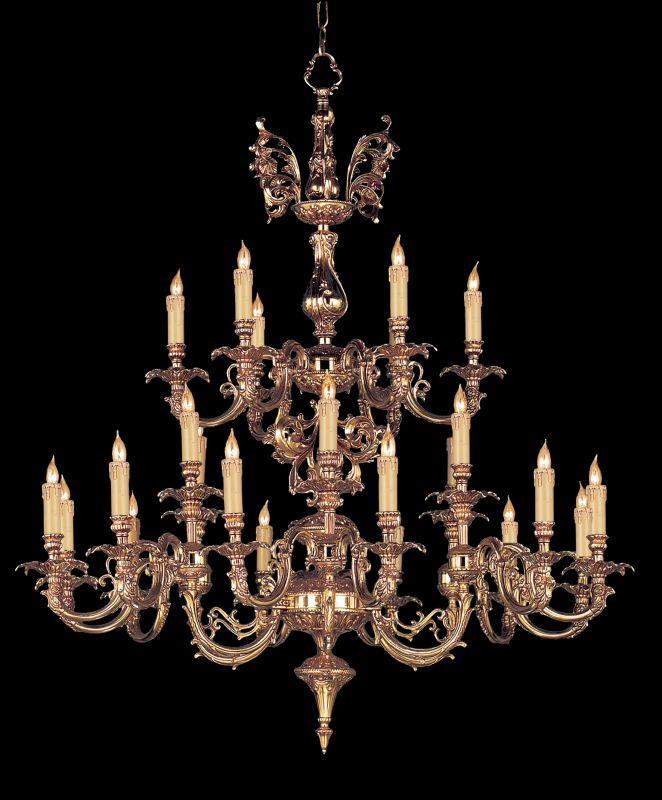 "Crystorama Lighting Group 2624 Novella 24 Light 40"" Wide 2 Tier Cast"