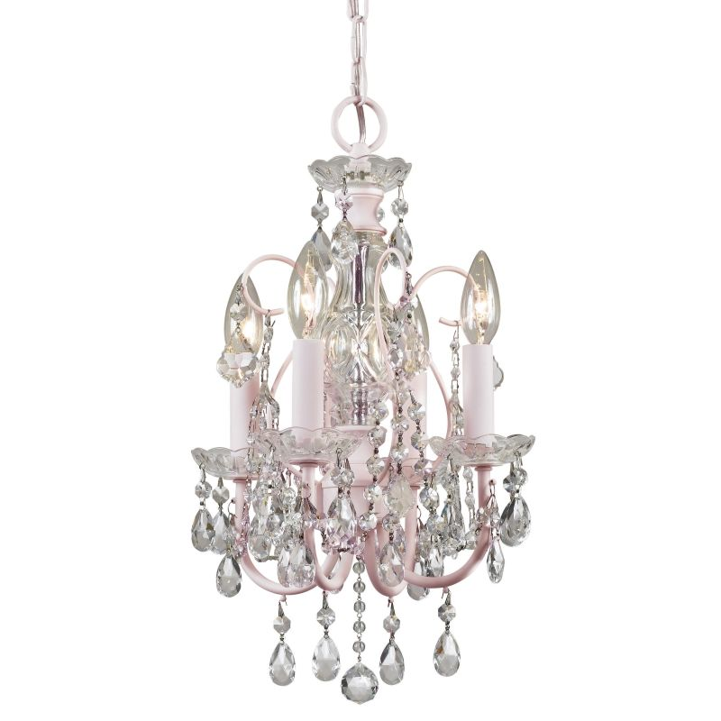 "Crystorama Lighting Group 3224-CL-MWP Imperial 4 Light 12"" Wide Candle"