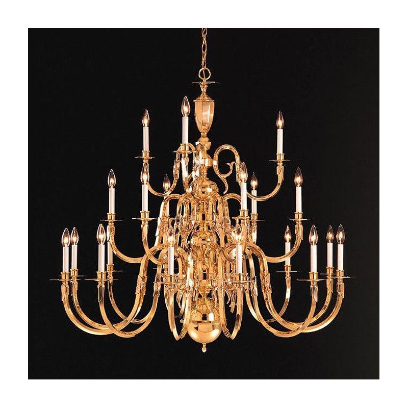 "Crystorama Lighting Group 419-60-21 Essex House 21 Light 60"" Wide 3"