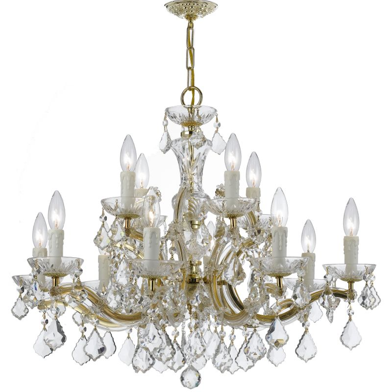 Crystorama Lighting Group 4379-CL-S Maria Theresa 12 Light Clear Sale $1123.88 ITEM: bci2551678 ID#:4379-GD-CL-S UPC: 633779025440 :