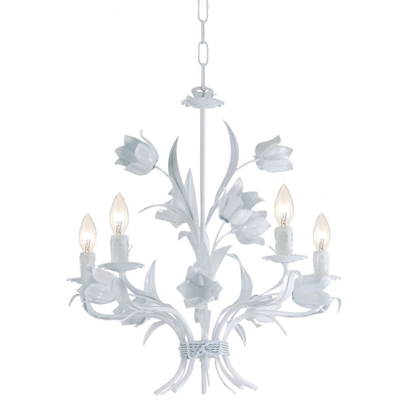 "Crystorama Lighting Group 4815 Southport 5 Light 20"" Wide Candle Style"