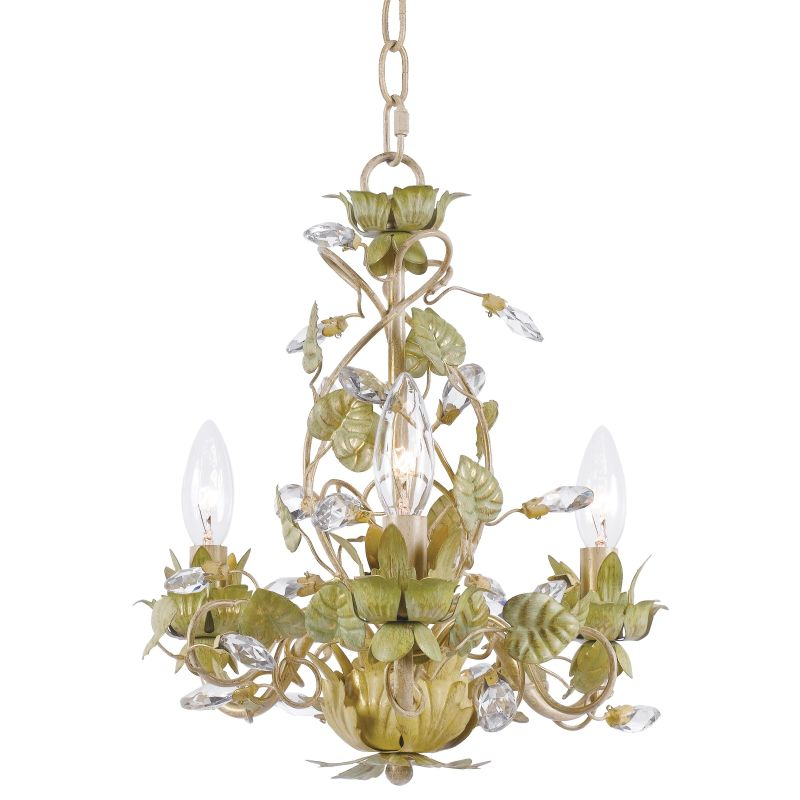 "Crystorama Lighting Group 4843 Josie 3 Light 14"" Wide Candle Style"
