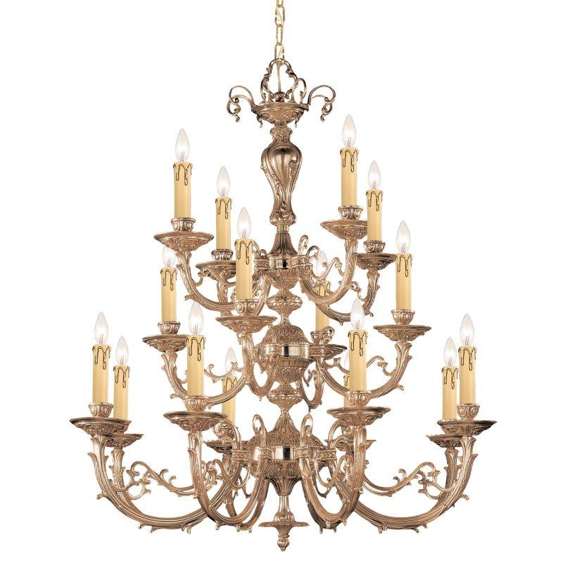 "Crystorama Lighting Group 490 Etta 16 Light 36"" Wide 3 Tier Cast Brass Sale $2990.00 ITEM: bci621611 ID#:490-OB UPC: 633779001376 :"
