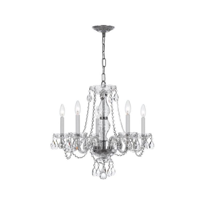 Crystorama Lighting Group 5085-CL-S Traditional Crystal 5 Light Single Sale $798.00 ITEM: bci2608161 ID#:5085-CH-CL-S UPC: 633779023101 :