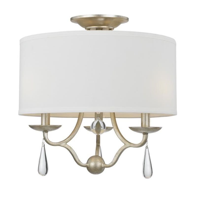 "Crystorama Lighting Group 5973_CEILING Manning 3 Light 16"" Wide"