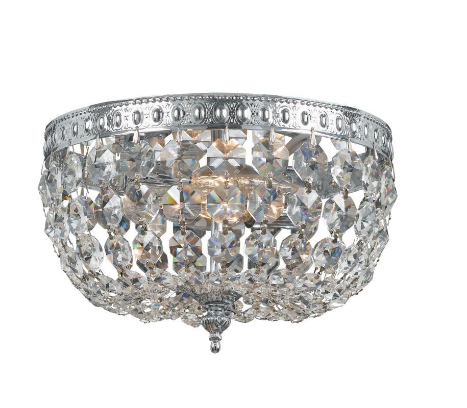 Crystorama Lighting Group 708-CL-MWP 2 Light Flush Mount Ceiling Sale $156.60 ITEM: bci2267320 ID#:708-CH-CL-MWP UPC: 633779023965 :