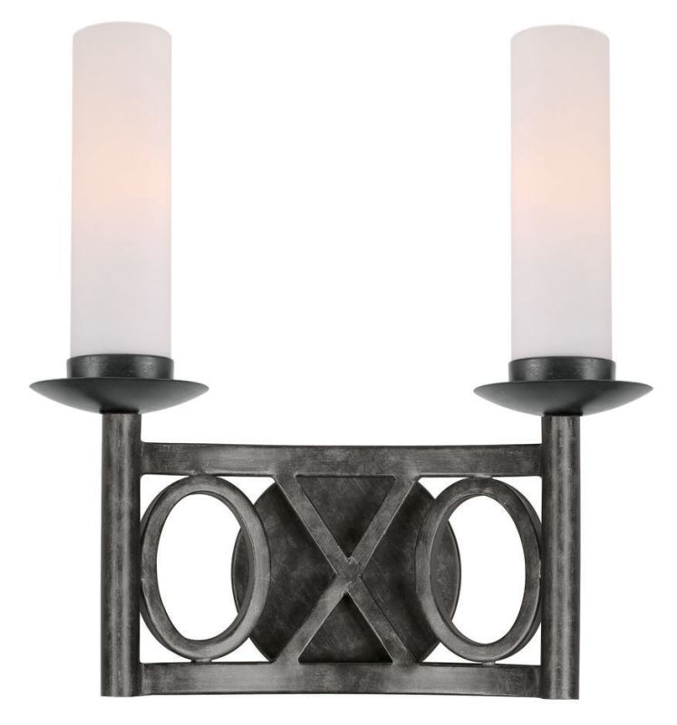 Crystorama Lighting Group 9442 Odette 2 Light Double Wall Sconce