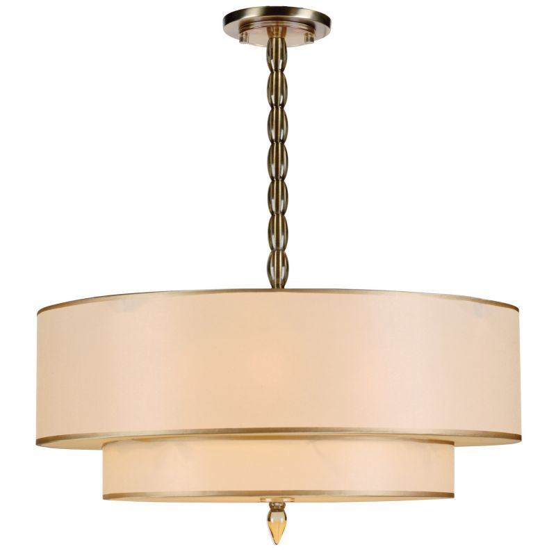 Crystorama Lighting Group 9507 Ab Antique Brass Luxo 5