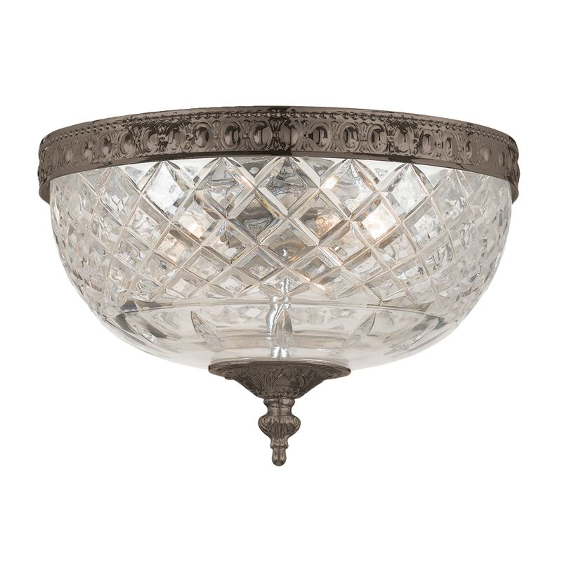 Crystorama Lighting Group 117-10 Richmond 2 Light Flushmount Ceiling