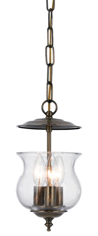Crystorama Lighting Group 5717 Ascott 3 Light Foyer Pendant with Urn Sale $102.60 ITEM: bci1939234 ID#:5717-AB UPC: 633779016301 :