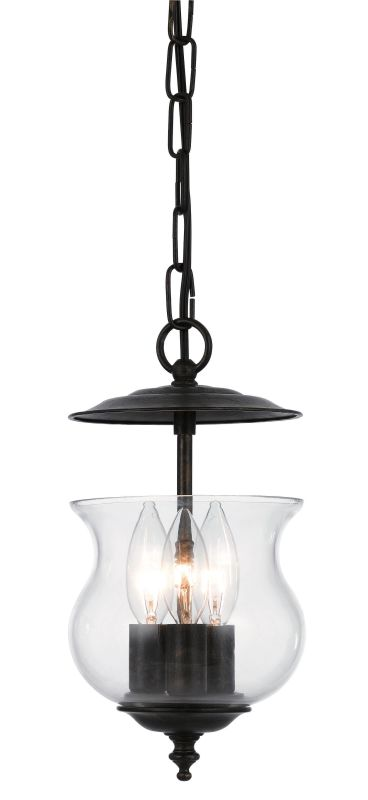Crystorama Lighting Group 5717 Ascott 3 Light Foyer Pendant with Urn Sale $102.60 ITEM: bci1939235 ID#:5717-EB UPC: 633779016318 :